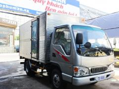 Giá xe tải JAC 2T4 thùng kín |báo giá xe tải JAC 2t4 thùng kín