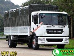 Cần bán xe tải Veam VPT950 9T3 dài 7m6, đời 2018, màu trắng, vay 100%