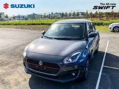 Cần bán Suzuki Swift đời 2018, màu xám, nhập khẩu chính hãng