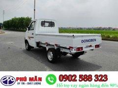 Giá xe tải dongben 870kg thùng lững giá rẻ cạnh tranh hỗ trợ vay cao lãi suất chỉ 0,%