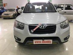 Bán xe Hyundai Santa Fe 2.4AT 2011, màu bạc, giá cạnh tranh