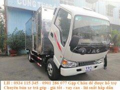 Bán xe tải Jac 2.4T (2.4 tấn) - 2T4(2 tấn 4) |Cabin vuông + động cơ Isuzu |thùng dài 4.3 m? giá tốt nhất