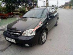 Gia đình bán xe Daewoo Lacetti đời 2010, màu đen