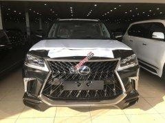 Bán Lexus LX570 Super Sport 2019, màu đen, nội thất nâu đỏ, xe nhập nguyên chiếc, mới 100%. Xe giao ngay, LH: 0906223838