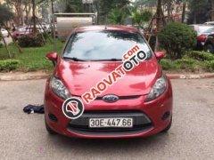 Cần bán gấp Ford Fiesta 1.6 AT đời 2012, màu đỏ