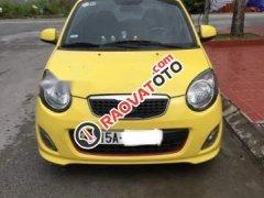 Cần bán Kia Morning năm sản xuất 2012, màu vàng chính chủ