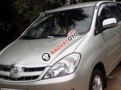 Bán Toyota Innova sản xuất 2008, màu bạc