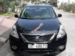 Bán Nissan Sunny XV 1.5AT 2014, màu đen, số tự động, giá 390tr