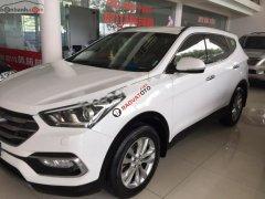 Cần bán Hyundai Santa Fe DM 2 năm 2018, màu trắng