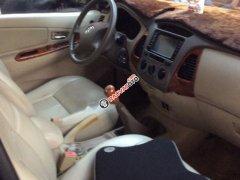 Xe Toyota Innova G sản xuất năm 2008, màu bạc số sàn