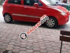 Cần bán xe Chevrolet Spark LT 2009, màu đỏ xe gia đình