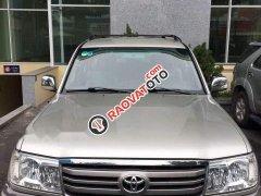 Cần bán gấp Toyota Land Cruiser đời 2007, màu ghi vàng