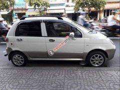Bán Daewoo Matiz SE 0.8 MT sản xuất 2005, màu trắng, xe nhập xe gia đình
