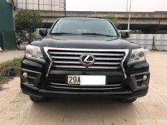 Bán Lexus LX570 Xuất Mỹ xe sản xuất 2010 model 2011 đã lên phom mới, đăng ký ca nhân 2011 biển Hà Nội