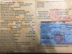 Bán Thaco Auman 3 chân, cầu lết, đời 2015, xe đẹp, thùng dài