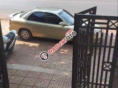 Bán xe Daewoo Nubira đời 2002, màu vàng