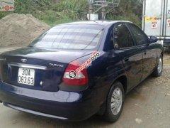 Bán xe Daewoo Nubira năm sản xuất 2001, màu xanh lam ít sử dụng