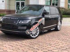 Bán xe LandRover Range Rover Autobiography LWB 5.0 sản xuất năm 2018, số tự động, máy xăng, màu đen