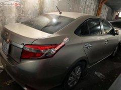 Bán Toyota vios G số tự động, đăng ký cuối 2016, màu vàng cát