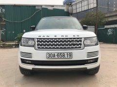 Bán LandRover Range Rover HSE SX 2014, đăng ký 2015, màu trắng, nội thất kem
