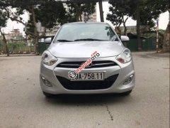 Cần bán gấp Hyundai i10 1.2 MT sản xuất năm 2014, màu bạc, xe nhập
