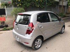 Bán Hyundai i10 1.1 MT 2013, màu bạc, xe nhập xe gia đình
