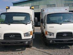 Bán xe Hyundai Mighty 110S-6T9 thùng kín 2019, màu trắng