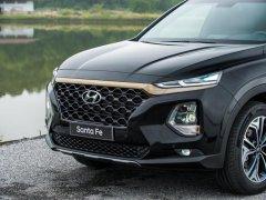 SantaFe 2019 | dầu Premium | màu đen giao ngay | Hyundai An Phú