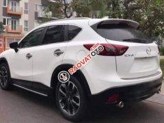 Cần bán lại xe Mazda CX 5 2.5 2016, màu trắng, đăng kí 2016