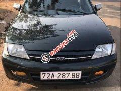 Cần bán gấp Ford Laser 2001, màu đen, xe gia đình, 125tr