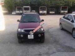 Bán Daihatsu Terios 1.3 4x4 MT đời 2005, màu đỏ, giá 130tr