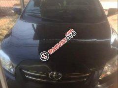 Cần bán lại xe Toyota Corolla altis đời 2009, màu đen chính chủ, giá 450tr