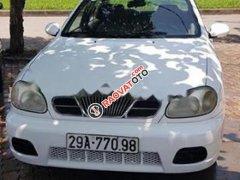 Bán xe Daewoo Lanos SX đời 2005, màu trắng, số sàn