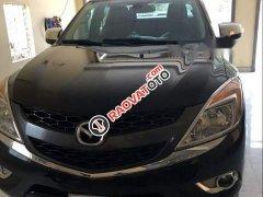 Cần bán Mazda BT 50 3.2 2014, màu đen, 2 cầu