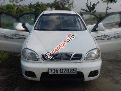 Bán gấp Daewoo Lanos sản xuất năm 2003, màu trắng, xe nhập
