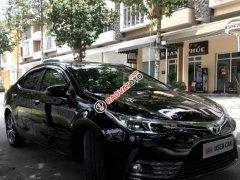Bán xe Toyota Corolla Altis 1.8G CVT đời 2017, màu đen