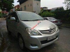 Cần bán Toyota Innova năm 2010, màu bạc