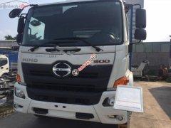 Bán xe tải Hino 500 Serie Euro4 (2019), màu trắng, máy dầu, số tay