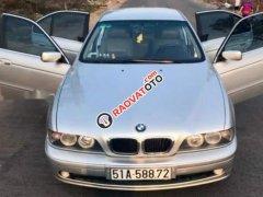 Bán BMW 5 Series 525i đời 2002, màu bạc, máy êm ru
