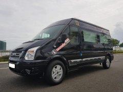 Ford Transit Limousine phiên bản VIP 10 chỗ, màu đen, sản xuất 2018. Xe đăng ký tháng 10/2018