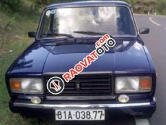 Bán Lada 2107 1992, màu xanh lam, xe nhập