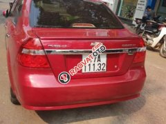 Gia đình bán Chevrolet Aveo đời 2015, màu đỏ, nhập khẩu