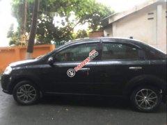 Cần bán xe Chevrolet Aveo MT sản xuất năm 2012, màu đen, xe nhà đi
