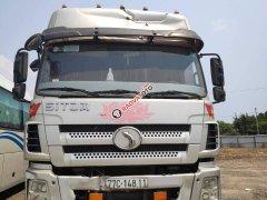 Ngân hàng bán đấu giá xe tải thùng Sitom 22 tấn sx 2016, màu xám ghi