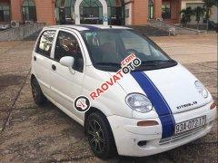 Cần bán gấp Daewoo Matiz đời 2002, màu trắng, nhập khẩu, giá 49tr