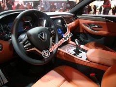 Bán ô tô VinFast LUX A2.0 Full Option (Nội thất da Nappa) 2019, màu đỏ (Giá 1 tỷ 3 đã bao gồm VAT - bàn giao xe T9.2019)