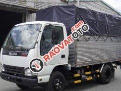 Bán xe tải Isuzu 2,5 tấn thùng bạt 3m6 đời 2019, xe có sẵn giao nhanh
