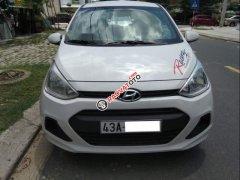 Cần bán xe Hyundai Grand i10 1.0MT 2014, màu bạc, xe nhập chính chủ