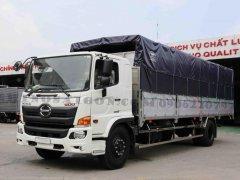 Xe tải Hino 2020 8 tấn thùng mui bạt 8.7m