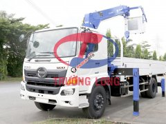 Xe tải cẩu 7 tấn, lắp cẩu Tadano 5 tấn | Hino Series 500 FG EURO 4
